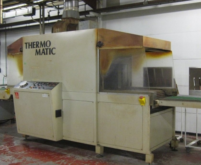 Thermomatic curing oven